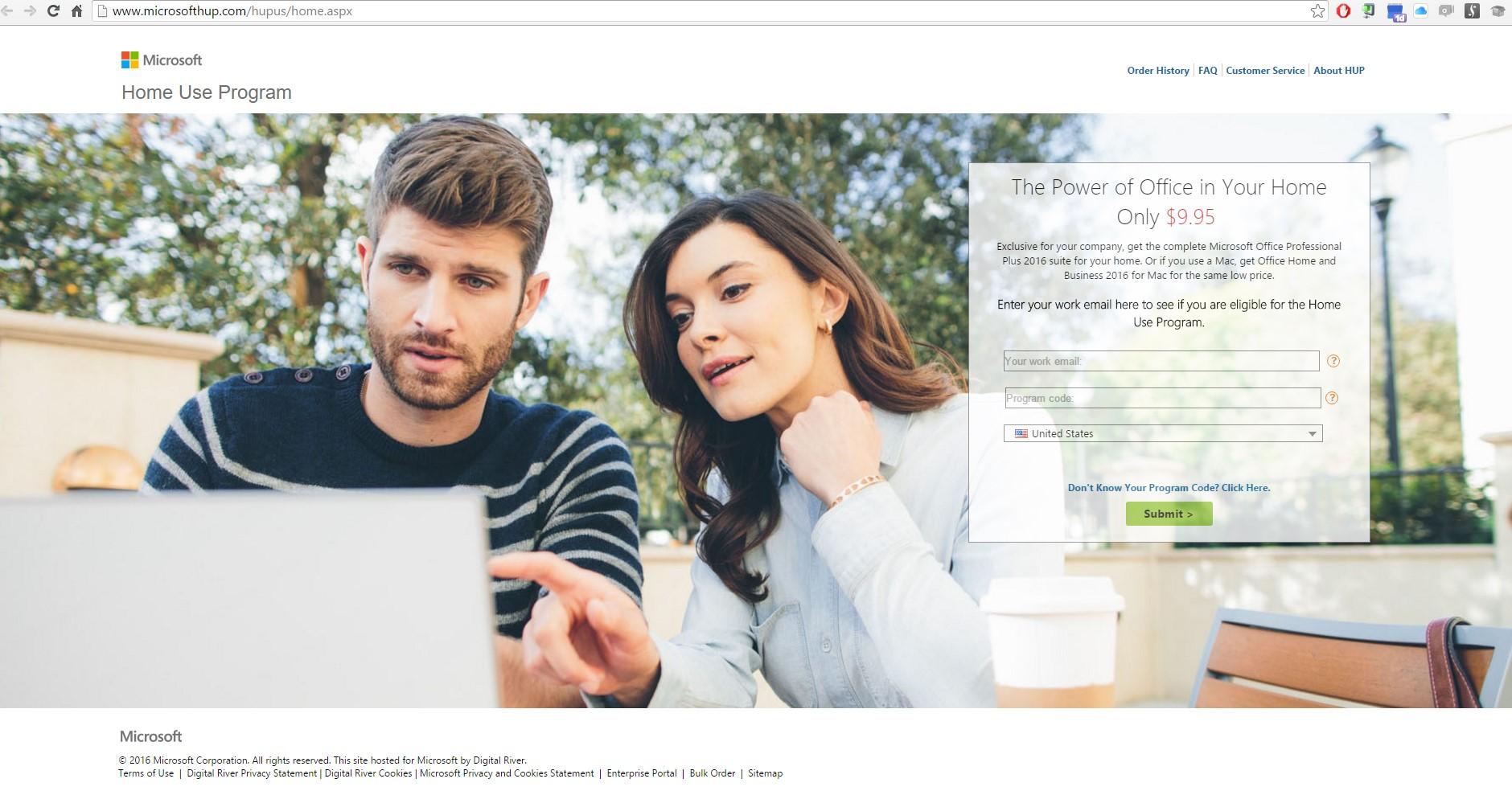 Microsoft Home Use Program – FirstFleet Support